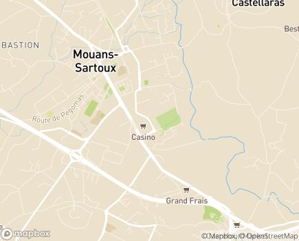 Localisation Emera - Résidence Séniors Albert - 06370 - Mouans-Sartoux