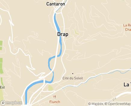 Localisation EHPAD L'Eau Vive - 06340 - Drap
