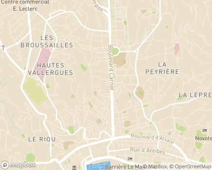 Localisation Résidence Autonomie Les Yuccas - 06400 - Cannes
