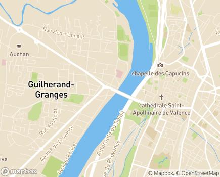 Localisation EHPAD Résidence Les Tamaris - 07500 - Guilherand-Granges