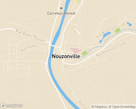 Localisation Centre Communal d'Action Sociale - 08700 - Nouzonville