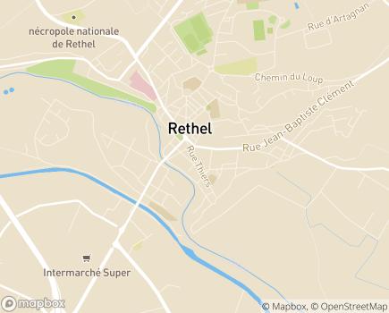 Localisation ADHAP - 08300 - Rethel