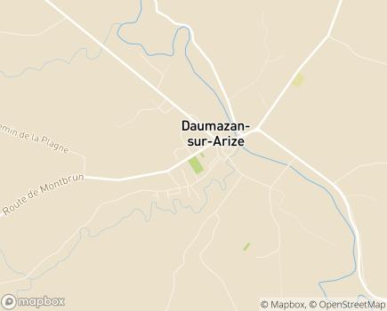 Localisation EHPAD L'Ostal - 09350 - Daumazan-sur-Arize