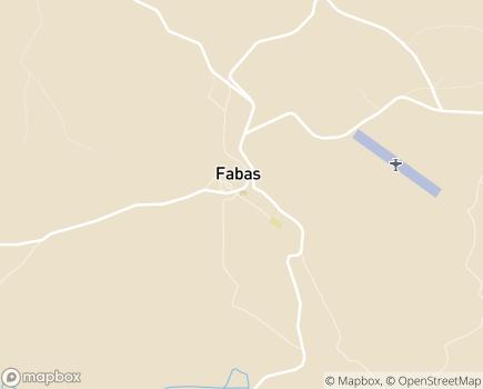 Localisation EHPAD La Croix du Sud - 09230 - Fabas