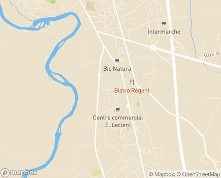 Localisation EHPAD des Sources - 09100 - Saint-Jean-du-Falga