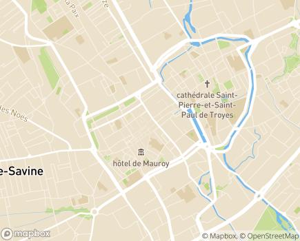 Localisation Pôle Solidarités - 10026 - Troyes