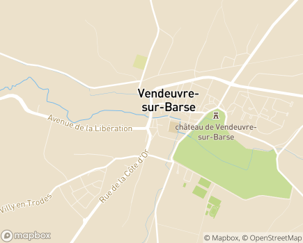 Localisation Colisée - Résidence Le Parc du Château - 10140 - Vendeuvre-sur-Barse