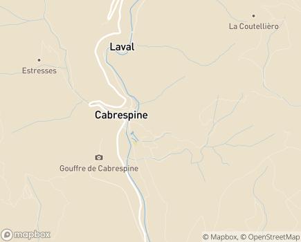 Localisation Maison d'Enfants Le Rayon de Soleil - 11160 - Cabrespine