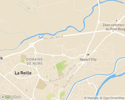 Localisation Pôle des Solidarités - 11855 - Carcassonne