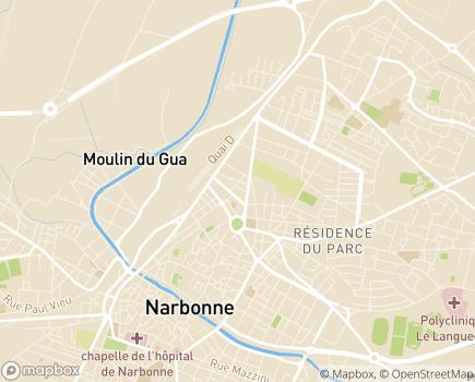 Localisation Maison d'Enfants - MECS (PEP 11) - 11100 - Narbonne