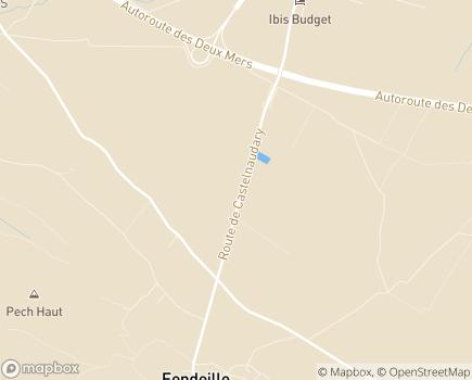 Localisation ANRAS - Pôle Social Educatif et Professionnel Olympe De Gouges - 11400 - Fendeille