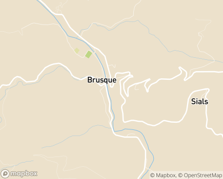 Localisation EHPAD Vallée du Dourdou - 12360 - Brusque