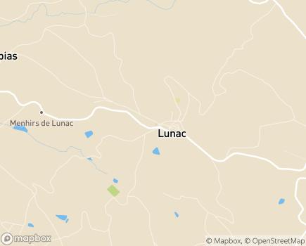 Localisation EHPAD Le Paginet Centre Intercommunal d'Action Sociale Ouest Aveyron Communauté - 12270 - Lunac