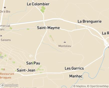 Localisation Institut d'Éducation Motrice Les Babissous - 12850 - Onet-le-Château