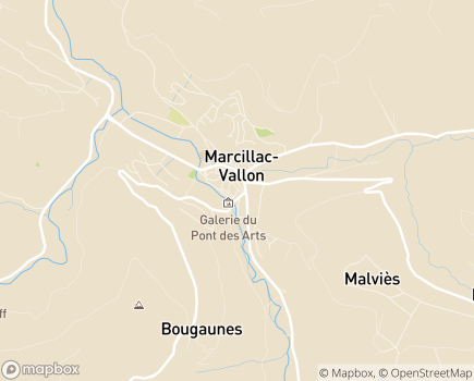 Localisation Centre Hospitalier Intercommunal du Vallon - 12330 - Salles-la-Source