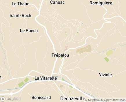 Localisation MAPAD - Maison d'Accueil pour Personnes Agées Dépendantes - 12300 - Decazeville