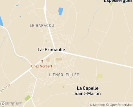 Localisation Maison de Retraite Sainte-Anne - 12450 - LA PRIMAUBE