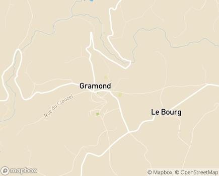 Localisation EHPAD-EHPA Saint-Dominique - 12160 - Gramond