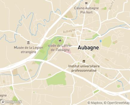 Localisation Centre Hospitalier Edmond Garcin - 13677 - Aubagne