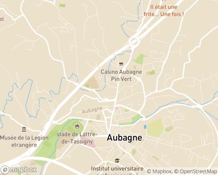Localisation Korian Val Pré - 13400 - Aubagne