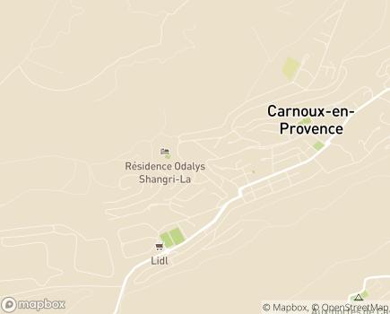 Localisation Korian Claude Debussy - 13470 - Carnoux-en-Provence