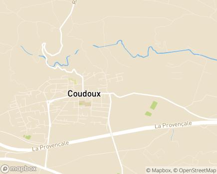 Localisation Foyer L'Eau Vive - 13111 - Coudoux