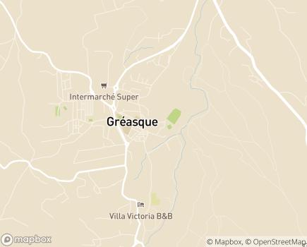 Localisation La Résidence du Parc AGAFPA Résidence Autonomie - 13850 - Gréasque