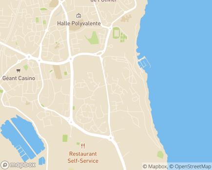 Localisation EHPAD Maison de Retraite Publique APMESS - 13808 - Istres