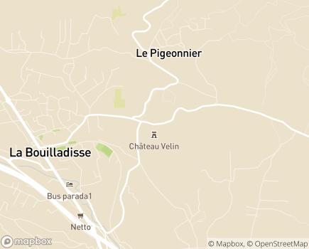 Localisation Clinique Médiazur - 13720 - La Bouilladisse