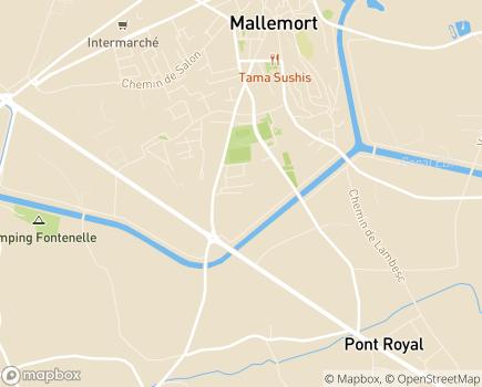 Localisation Colisée - Résidence Les Lavandins - 13370 - Mallemort