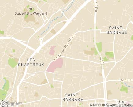 Localisation Résidence Les Epis d'Or - 13012 - Marseille 12