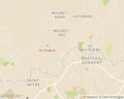Localisation Korian La Loubière - 13013 - Marseille 13