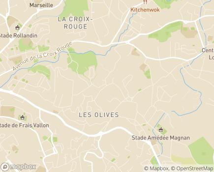 Localisation Korian La Paquerie - 13013 - Marseille 13
