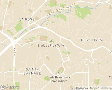 Localisation EHPAD Résidence Les Jonquilles - 13013 - Marseille 13