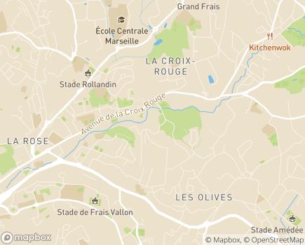 Localisation EHPAD Les Séolanes - 13013 - Marseille 13