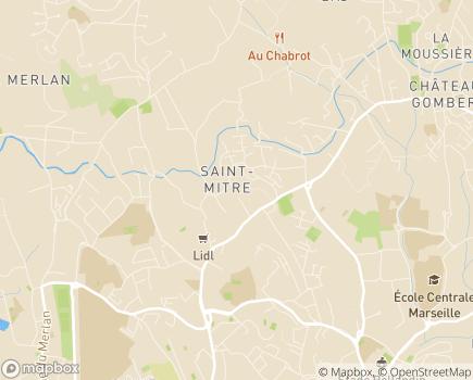 Localisation AFAD Association Familiale d'Aide à Domicile - 13013 - Marseille 13
