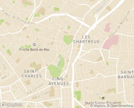 Localisation EHPAD Résidence Les Acacias - 13004 - Marseille 04