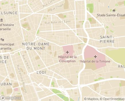 Localisation Assistance Publique Hôpitaux de Marseille - 13005 - Marseille 05