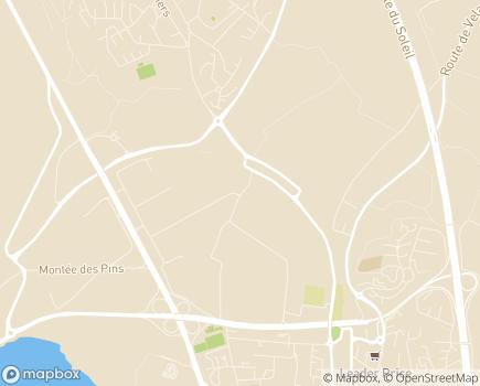 Localisation Etablissement les Marcottes - 13340 - Rognac