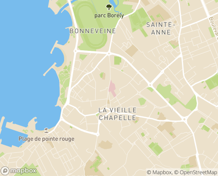 Localisation Clinique Bonneveine - 13008 - Marseille 08