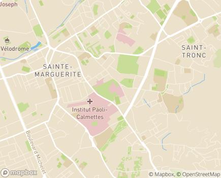 Localisation Hôpital Salvator - 13274 - Marseille 09