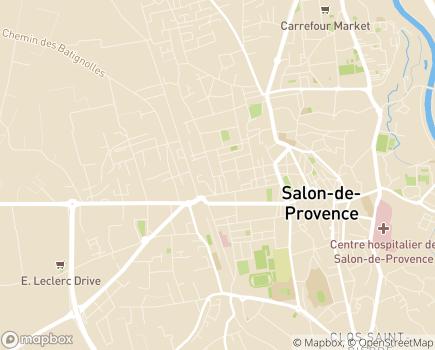 Localisation Maison de Salon - 13300 - Salon-de-Provence
