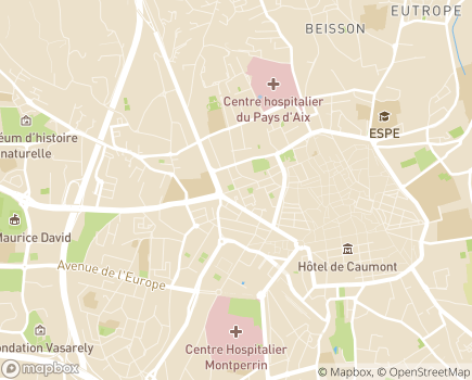 Localisation Foyers Delta Sud - 13100 - Aix-en-Provence
