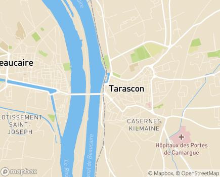 Localisation MECS Les Matins Bleus - 13150 - Tarascon