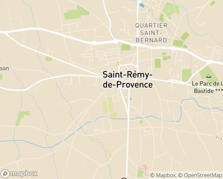 Localisation Maison d'Accueil de l'Enfance - 13210 - Saint-Rémy-de-Provence