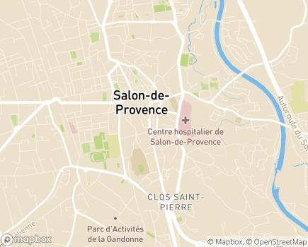 Localisation CAE Unité Educative en Milieu Ouvert - 13300 - Salon-de-Provence