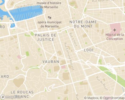 Localisation Institut de Gérontologie Sociale - 13251 - Marseille 06