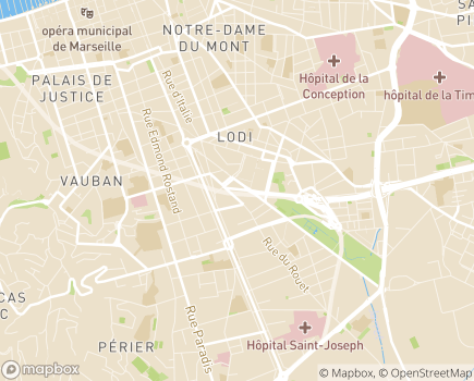 Localisation Conférence Régionale des Présidents de Conférence Médicale d'Etablissements d'Hospitalisation Privée de PACA - CORSE - 13006 - Marseille 06