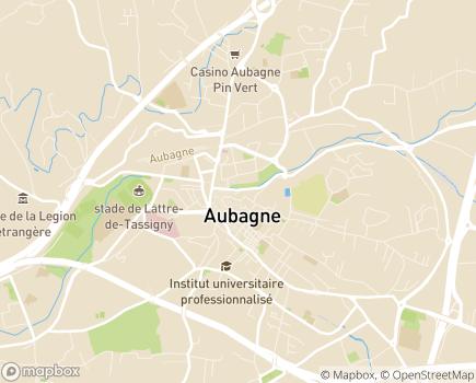 Localisation Résidence Services Les Terres Brunes - 13400 - Aubagne