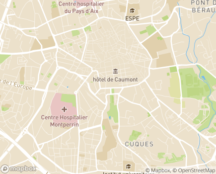 Localisation Résidence Services Emmanuel - 13090 - Aix-en-Provence